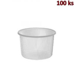 Miska kulatá průhledná 300 ml PP [100 ks]