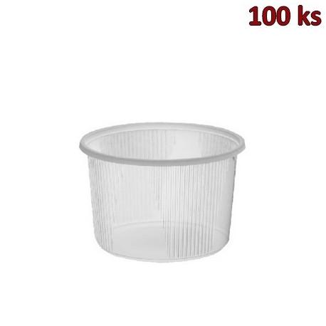 Plastová miska kulatá 300 ml PP [100 ks]