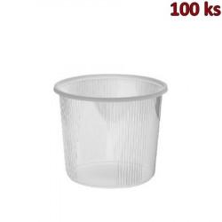 Miska kulatá průhledná 400 ml PP [100 ks]