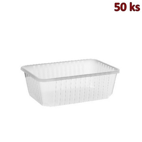 Plastová vanička průhledná 1000 ml PP [50 ks]