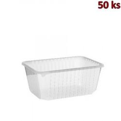 Jednorázová vanička průhledná 1200 ml PP [50 ks]