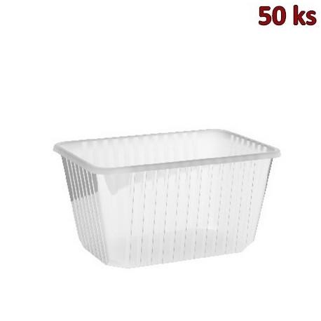 Vanička na jídlo průhledná 1500 ml PP [50 ks]
