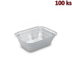 Hliníkové mísy na těstoviny hranaté 935ml 19,4x14,2x5,5cm [100ks]