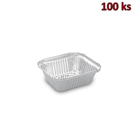 Hliníkové misky hranaté 470 ml 14,5 x 12 x 4,1 cm [100 ks]