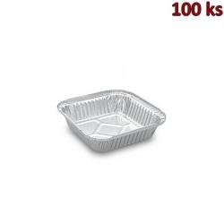 Hliníkové misky hranaté 560 ml 15,8 x 15,8 x 3,4 cm [100 ks]