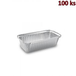 Miska hranatá ALU (900 ml) 21,8 x 11,4 x 5,4 cm [100 ks]