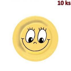 Papírové talíře Ø 23 cm SMILING FACE [10 ks]