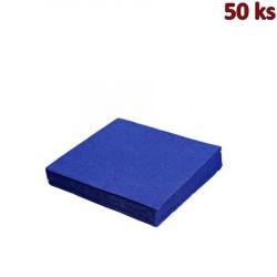 Papírové ubrousky tmavě modré 2-vrstvé, 33 x 33 cm [50 ks]
