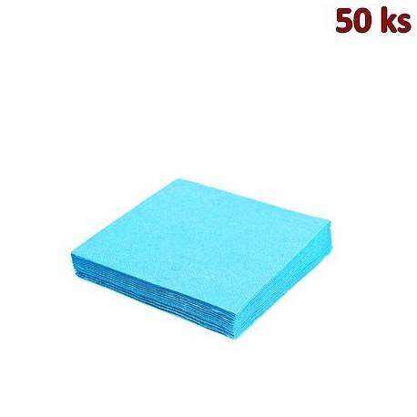 Papírové ubrousky světle modré 2-vrstvé, 33 x 33 cm [50 ks]