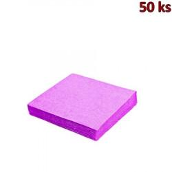 Papírové ubrousky světle fialové 2-vrstvé, 33 x 33 cm [50 ks]