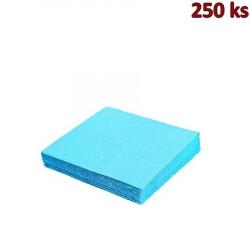Papírové ubrousky světle modré 2-vrstvé, 33 x 33 cm [250 ks]