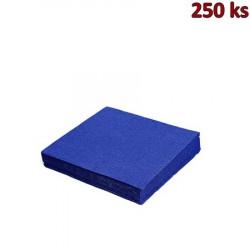 Papírové ubrousky tmavě modré 3-vrstvé, 33 x 33 cm [250 ks]