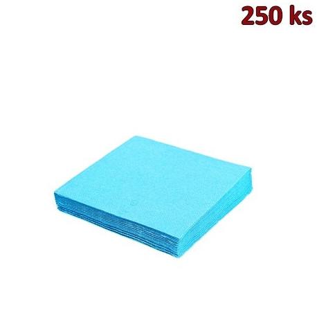 Papírové ubrousky světle modré 3-vrstvé, 33 x 33 cm [250 ks]