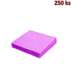 Papírové ubrousky světle fialové 3-vrstvé, 33 x 33 cm [250 ks]