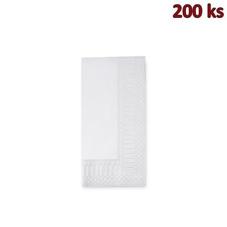 Papírové ubrousky 3-vrstvé, 33 x 33 cm bílé 1/8 skládání [250 ks]