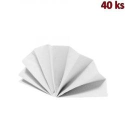 Ubrousky DekoStar 40 x 40 cm bílé [40 ks]