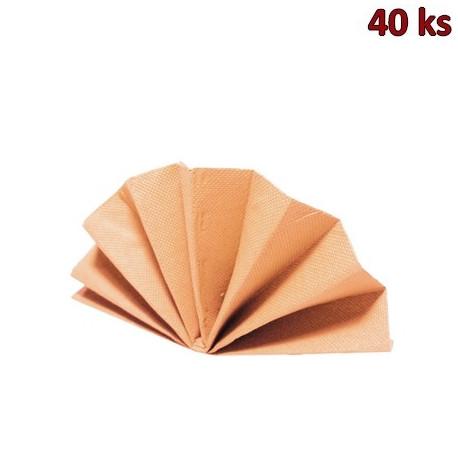 Ubrousky DekoStar 40 x 40 cm apricot [40 ks]