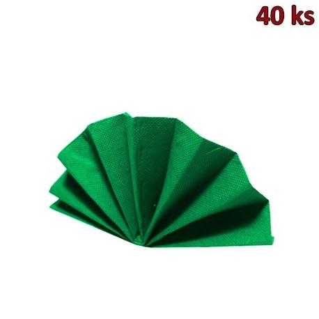 Ubrousky DekoStar 40 x 40 cm tmavě zelené [40 ks]