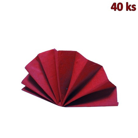 Ubrousky DekoStar 40 x 40 cm bordové [40 ks]