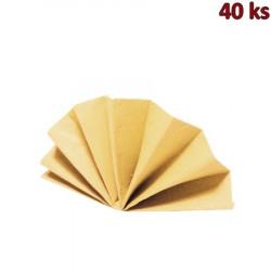 Ubrousky DekoStar 40 x 40 cm béžové [40 ks]