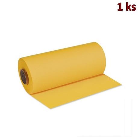 Středový pás PREMIUM 24 m x 40 cm žlutý [1 ks]