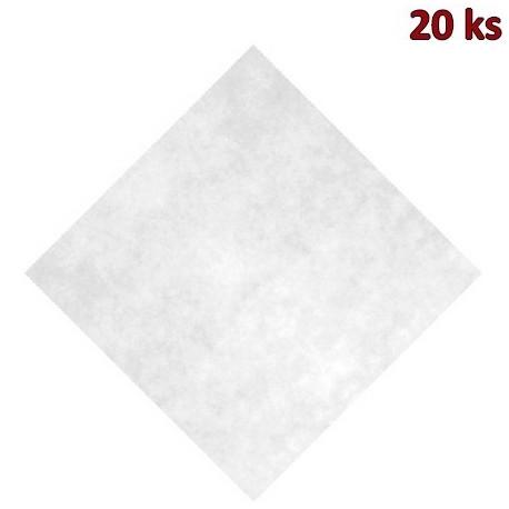 Napron PREMIUM 80 x 80 cm bílý [20 ks]