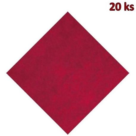 Napron PREMIUM 80 x 80 cm bordový [20 ks]