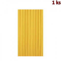 Stolová sukýnka PREMIUM 4 m x 72 cm žlutá [1 ks]