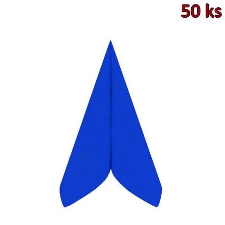 Ubrousky PREMIUM 40 x 40 cm tmavě modré [50 ks]