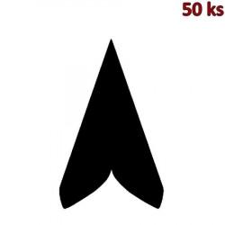Ubrousky PREMIUM 40 x 40 cm černé [50 ks]
