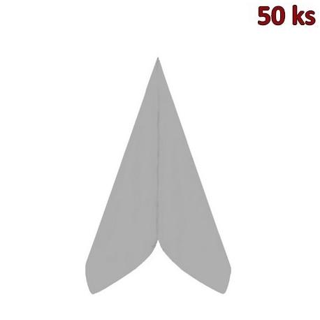 Ubrousky PREMIUM 40 x 40 cm šedé [50 ks]