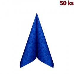 "Ubrousky PREMIUM 40x40cm ""dekor R"" tmavě modré [50 ks]"