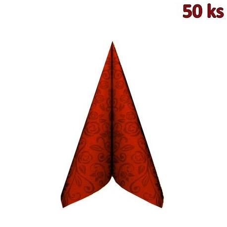 "Ubrousky PREMIUM 40x40cm ""dekor R"" terakota [50 ks]"