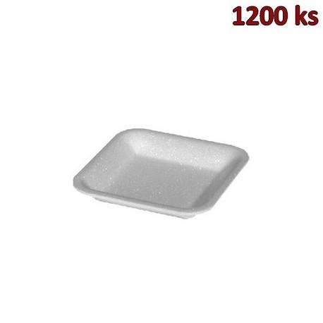 Podložní miska bílá 60, 135 x 135 x 20 mm EPS [3600 ks]