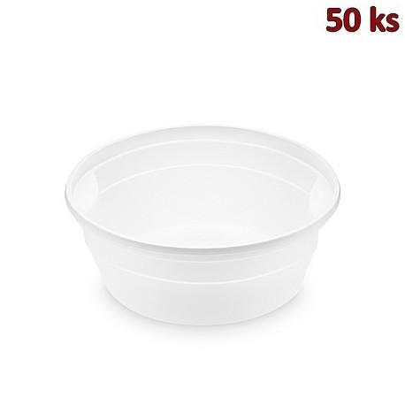 Polévková miska bílá (PP) 350 ml, Ø 127 mm [50 ks]