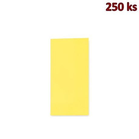 Ubrousky 3-vrstvé, 33 x 33 cm žluté 1/8 skládání [250 ks]
