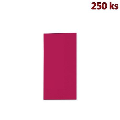 Ubrousky 3-vrstvé, 33 x 33 cm bordové 1/8 skládání [250 ks]
