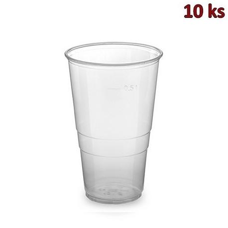 Kelímek průhledný 0,5 l PP [10 ks]