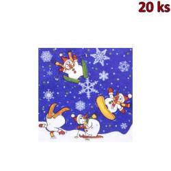 Vánoční ubrousky motiv 84028 3-vrstvé, 33 x 33 cm [20 ks]