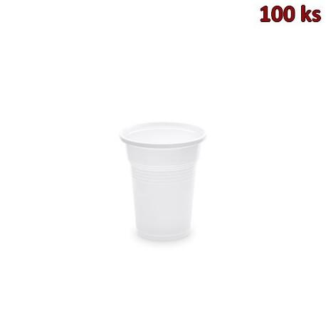 Kelímek bílý 0,1 l -PP- (Ø 57 mm) [100 ks]