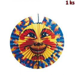Lampión diskový SLUNCE A HVĚZDY Ø 45 cm [1 ks]