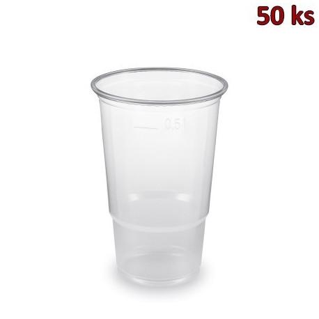Kelímek průhledný 0,5 l -PP- (Ø 95 mm) [50 ks]