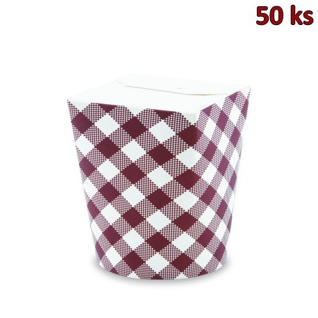Food box bílý 500 ml (16oz) [50 ks]