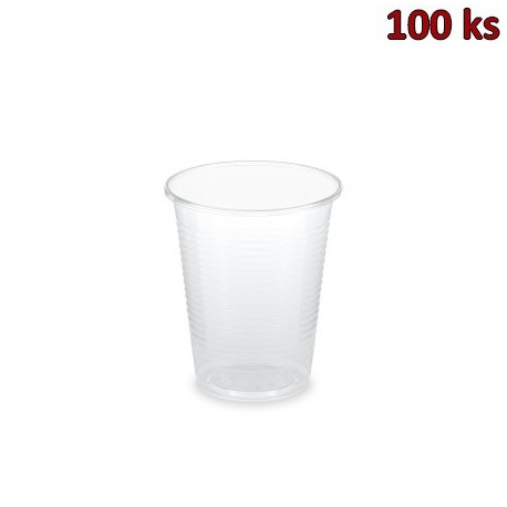 Kelímek průhledný 0,18 l (PLA) -BIO- (Ø 70 mm) [100 ks]