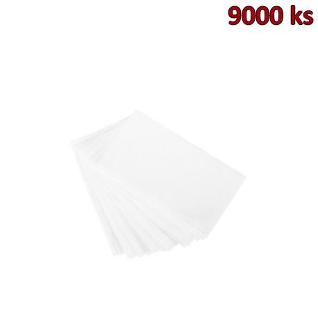 Papírové ubrousky do zásobníku 2-vrstvé, 21 x 16,5 cm bílé [9000 ks]