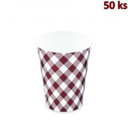 Papírový kelímek KARO 420 ml, L (Ø 90 mm) [50 ks]