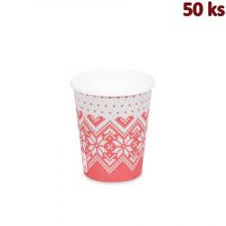 Papírový kelímek - Zimní období 280 ml (Ø 80 mm) [50 ks]