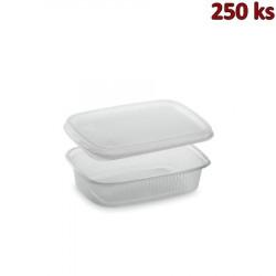 Plastová miska s víčkem 125 ml (PP) [250 ks]