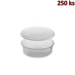 Plastová miska kulatá s víčkem 125 ml (PP) [250 ks]