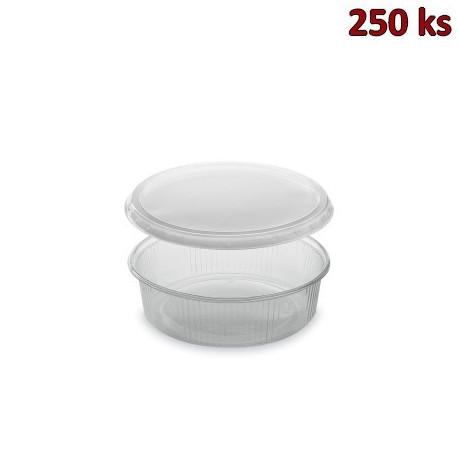 Miska kulatá průhledná 125 ml + víčko (PP) [2 x 250 ks]